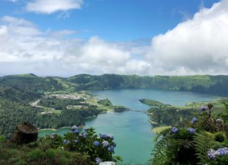 A beautiful photo of Azores island